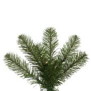 Vickerman Salem Pencil 7.5' Green Pine Artificial Christmas Tree