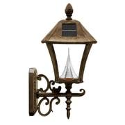 Gama Sonic Baytown 1-Light Lantern Head; Weathered Bronze