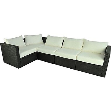 Outsunny 5 Piece Sectional w/ Cushions