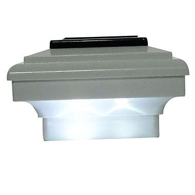 Outsunny LED Fence Post Cap