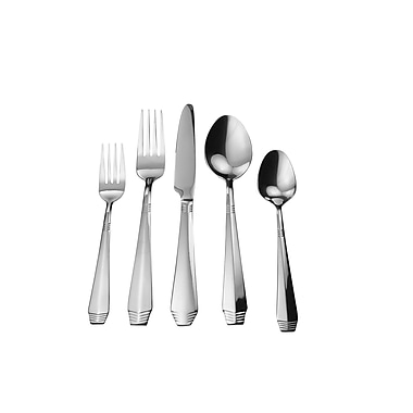 David Shaw Silverware Splendide Cruz 20 Piece Flatware Set