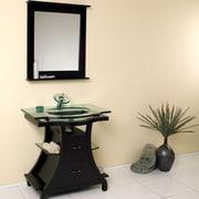 Fresca Classico 32'' Single Cortese Modern Bathroom Vanity Set w/ Mirror