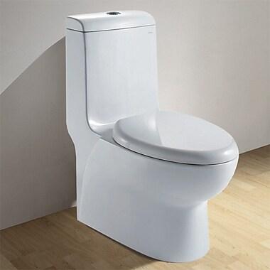 Ariel Bath Royal Dual Flush Elongated Toilet 1 Piece