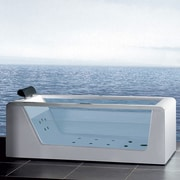 Ariel Bath Platinum 59'' x 25.6'' Whirlpool Bathtub
