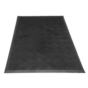 Rubber-Cal, Inc. Dura-Scraper Checkered Commercial Entrance Doormat