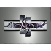 DesignArt Contemporary 4 Piece Painting on Canvas Set
