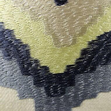 Plutus Brands Native Trail Dew Handmade Linen Throw Pillow; 12'' H x 25'' W