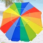 Shadezilla 8' Premium Beach Umbrella with Hanging Hook