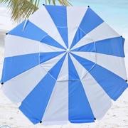 Shadezilla 8' Premium Beach Umbrella with Integrated Anchor