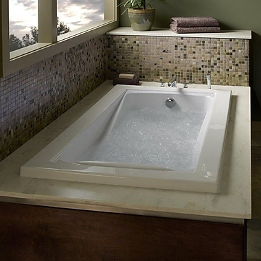 American Standard Green Tea 63.625'' x 45.5'' Bathtub