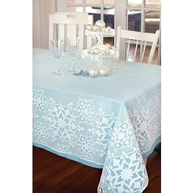 Heritage Lace Glisten Rectangle Tablecloth