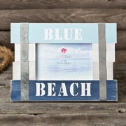 FashionCraft Blue Beach Picture Frame