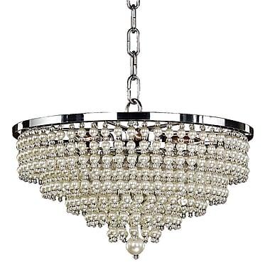 Glow Lighting Cava 6-Light Crystal Pendant