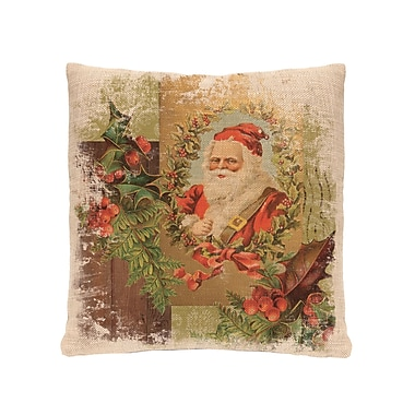 Heritage Lace Woodland Christmas Santa Pillow Cover