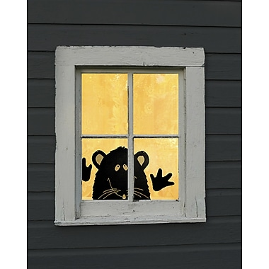 Heritage Lace Rat Peek A-Boo Wall Decal (Set of 3)