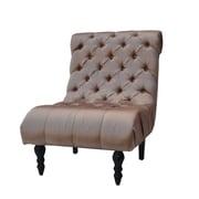 Park Avenue Buckingham Escape Slipper Chair; Taupe