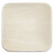 Leaf & Fiber 6'' Compostable and Sustainable Fallen Palm Leaf Appetizer Plate (Set of 25)