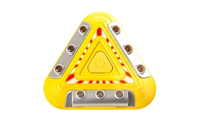 Imperial Home Flashing Emergency Triangle LED Warning Lights