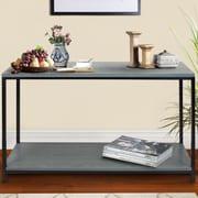 American Trail Studio Console Table; Gray Wash