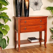 Heather Ann Heirloom Accent Cabinet; Woodgrain