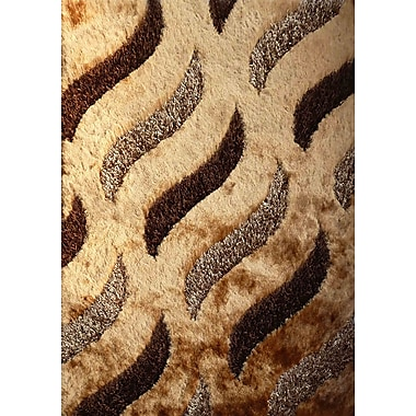Rug Factory Plus Hand-Tufted Brown Area Rug