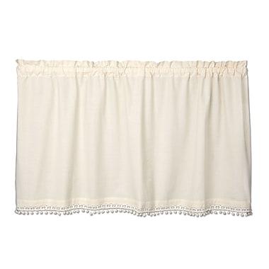 Heritage Lace Vintage Pom Pom Tier Curtain