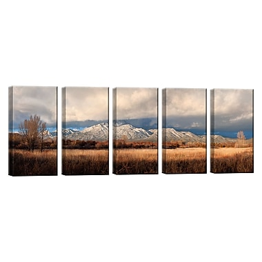 Ready2hangart 'Taos Mountain Light' by Bartlett Hayes 5 Piece Photographic Print on Canvas