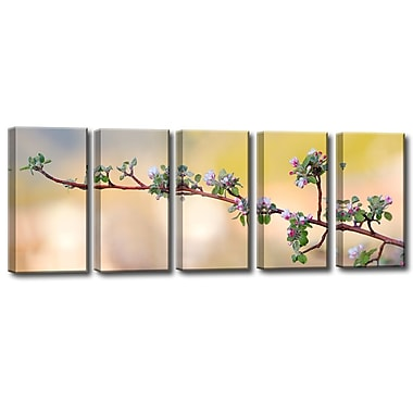 Ready2hangart 'Apple Blossom' by Bartlett Hayes 5 Piece Photographic Print on Canvas