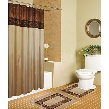 Rug and Decor Inc. Riviera Luxury 15 Piece Bath Set