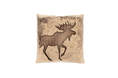 Heritage Lace Alpine Woods Moose Pillow Cover
