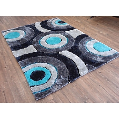 Rug Factory Plus Hand-Tufted Gray/Blue Area Rug