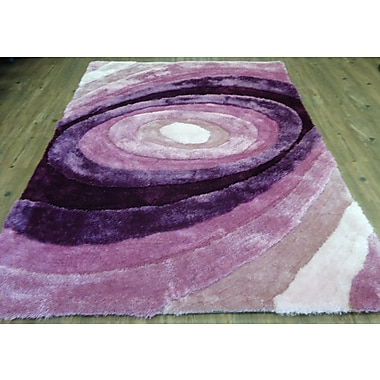 Rug Factory Plus Hand-Tufted Lavender Area Rug