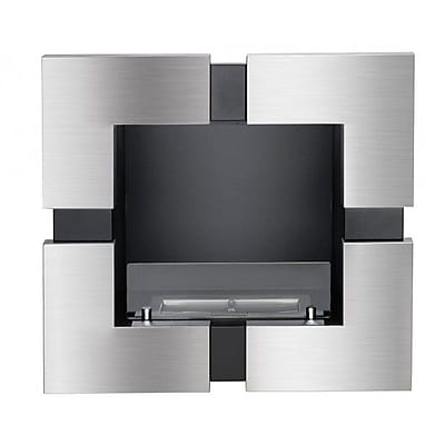 Ignis Tokyo Recessed Ventless Wall Mounted Ethanol Fireplace