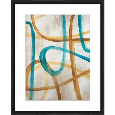 PTM Images 'Recrudesence I' Framed Painting Print