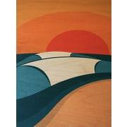 LoveTheGrain Pipeline by Shaun Thomas Graphic Art on Wood
