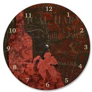 Stupell Industries 12'' Damask Vanity Clock
