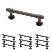 """Franklin Brass Soft Iron 3"""" Francisco Kitchen or Cabinet Hardware Drawer Handle Pull, 10 Pack (P29520K-SI-B)"""