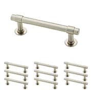 "Franklin Brass Satin Nickel 3"" Francisco Kitchen or Cabinet Hardware Drawer Handle Pull, 10 Pack (P29520K-SN-B)"