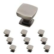 "Franklin Brass Heirloom Silver 1-1/8"" Webber Kitchen Cabinet Hardware Knob, 10 Pack (P29542K-904-B)"