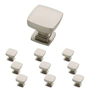 "Franklin Brass Satin Nickel 1-1/8"" Webber Kitchen Cabinet Hardware Knob, 10 Pack (P29542K-SN-B)"
