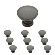 "Franklin Brass Soft Iron Fulton 1-1/8"" Kitchen Cabinet Hardware Knob, 10 Pack (P29523K-SI-B)"