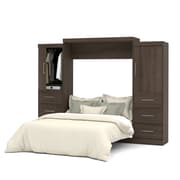"Nebula by Bestar 115"" Queen Wall Bed Kit, Antigua, (25884-52)"