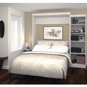 """Pur by Bestar 90"""" Queen Wall Bed Kit, White, (26888-17)"""