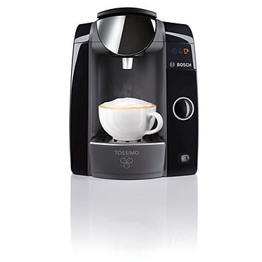 Tassimo T47+ Multi Beverage Maker, Single Cup Home Brewing System, Black, (TAS4752UC)