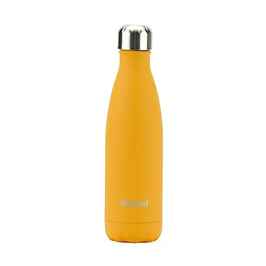 Minimal Insulated Bottle, 500 mL, Orange