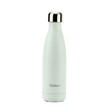 Minimal Insulated Bottle, 500 mL, White