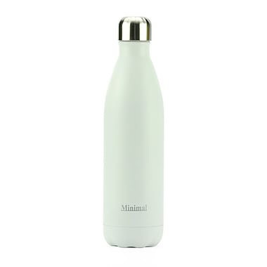 Minimal – Bouteille isolée, 750 ml, blanc