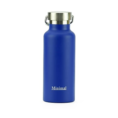 Minimal Insulated Flask, 500 mL, Blue