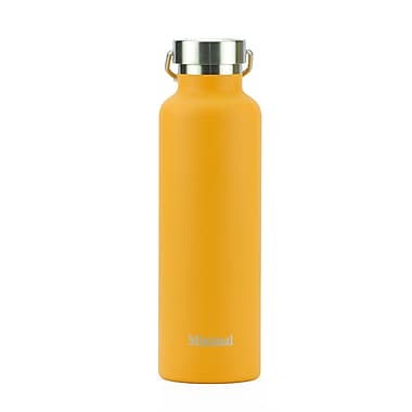 Minimal – Flasque à isolation thermique, 750 ml, orange