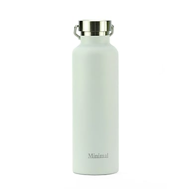 Minimal Insulated Flask, 750 mL, White